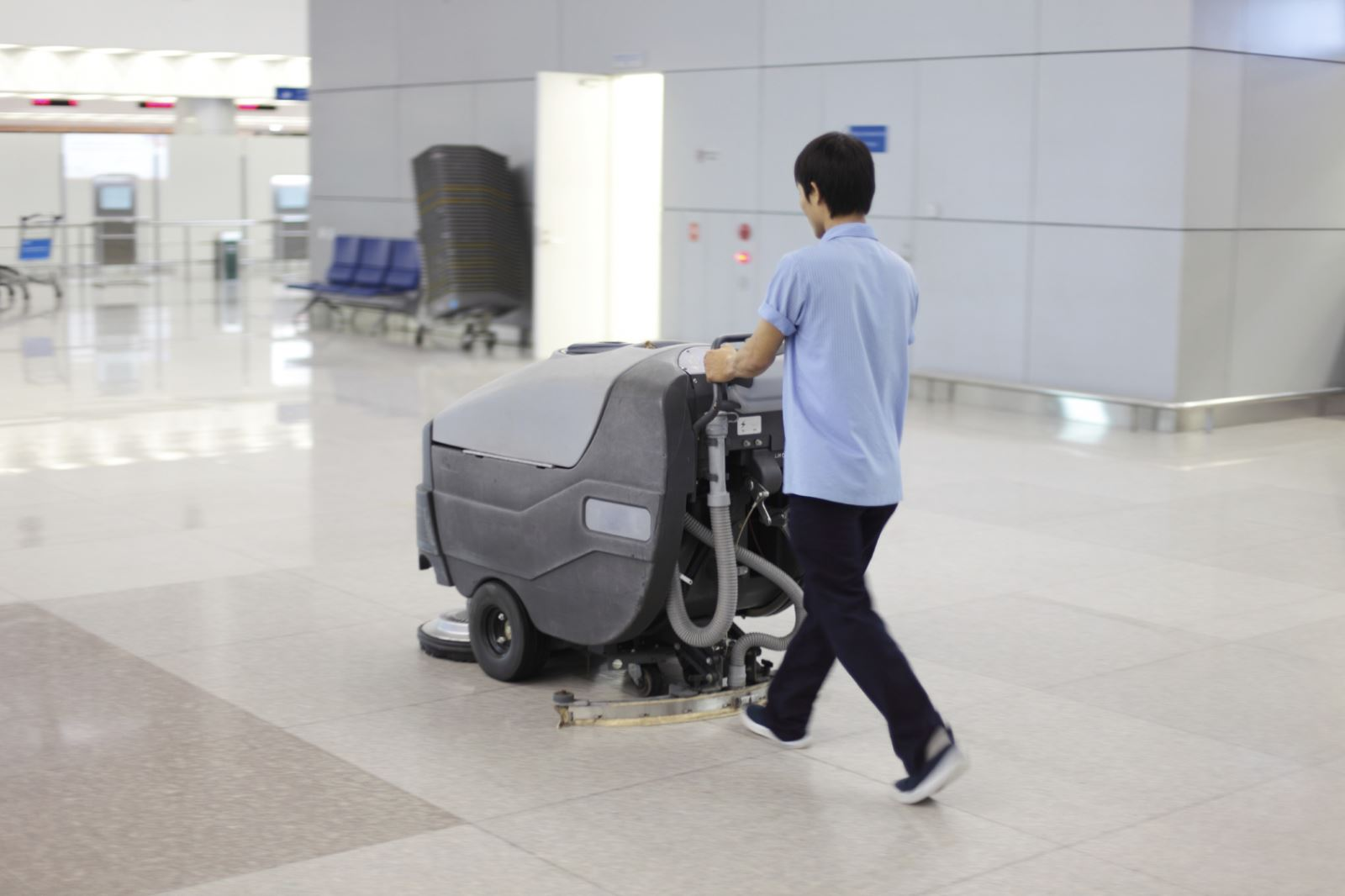 Cleaning & Maintaining Hard Floor Surfaces